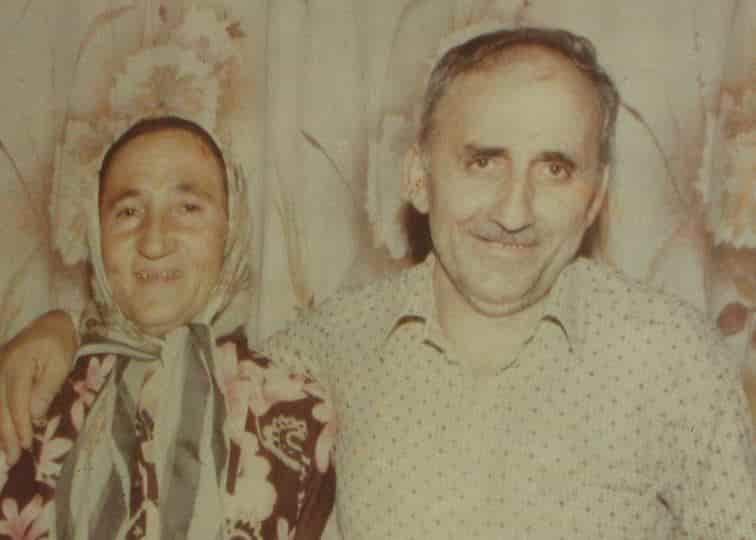 Raif Muhtar ve karisi Kezban Baytekin